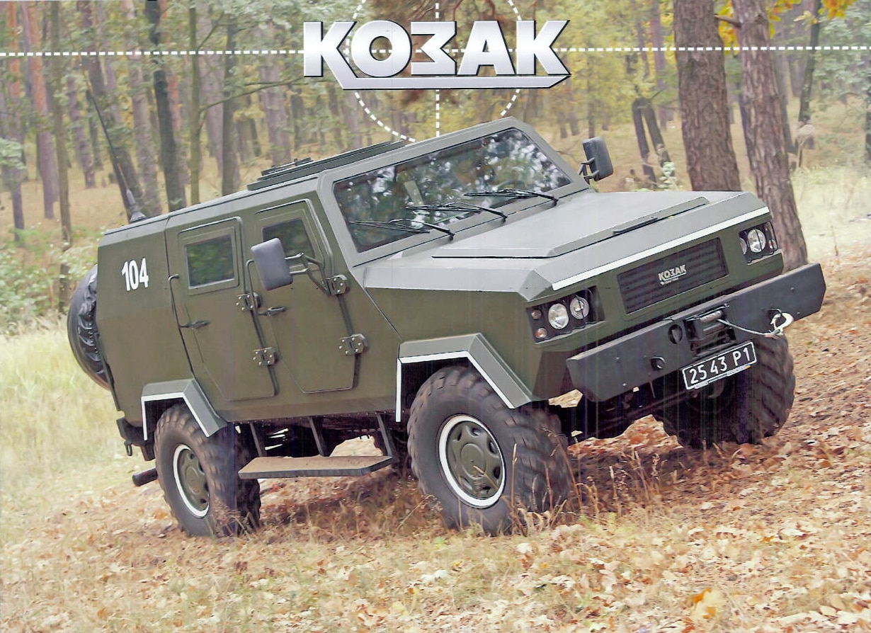 Resultado de imagen para MRAP Kozak