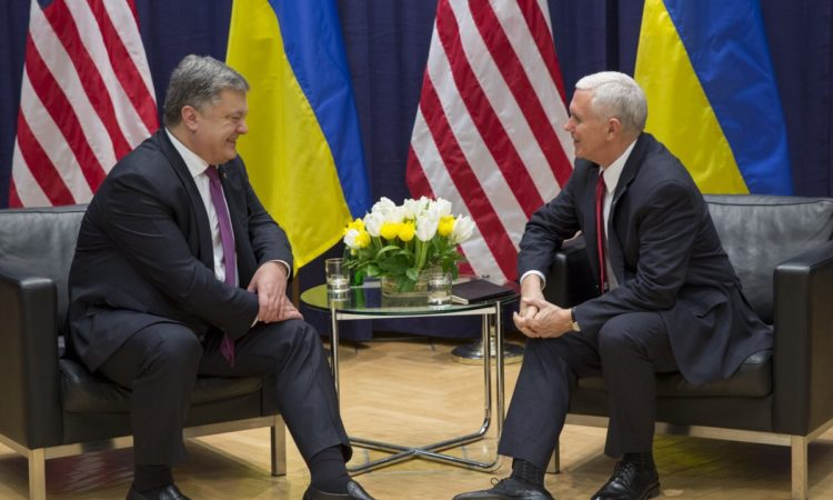Vice President's Meeting with Ukrainian President Petro Poroshenko