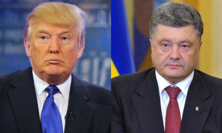 Readout of President Trump's call with President Petro Poroshenko of Ukraine