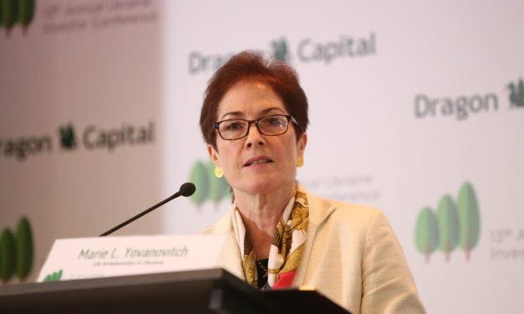 Ambassador Yovanovitch at the Dragon Capital 13th Annual Ukraine Investor Conference