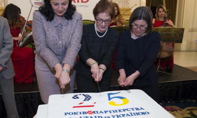 USAID Ukraine marks 25 anniversary