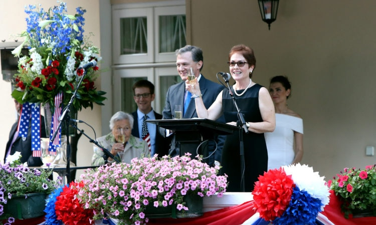 US Ambassador to Ukraine, Marie Yovanovitch, Remarks to Celebrate Independence Day 2017