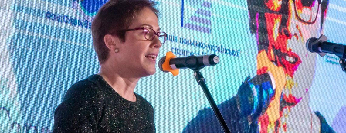 Виступ посла Йованович під час Гала-церемонії нагородження премією за прозорість бюджету