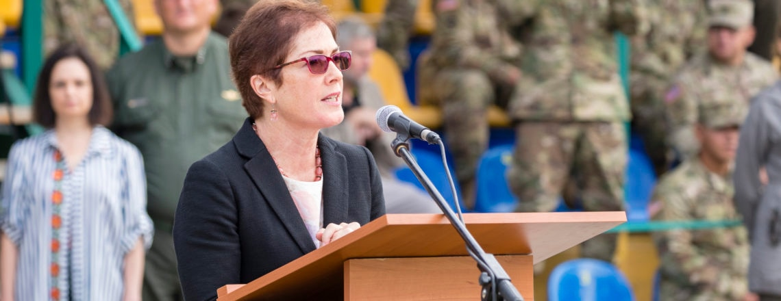 Ambassador Yovanovitch's Remarks at the Rapid Trident Opening Ceremony