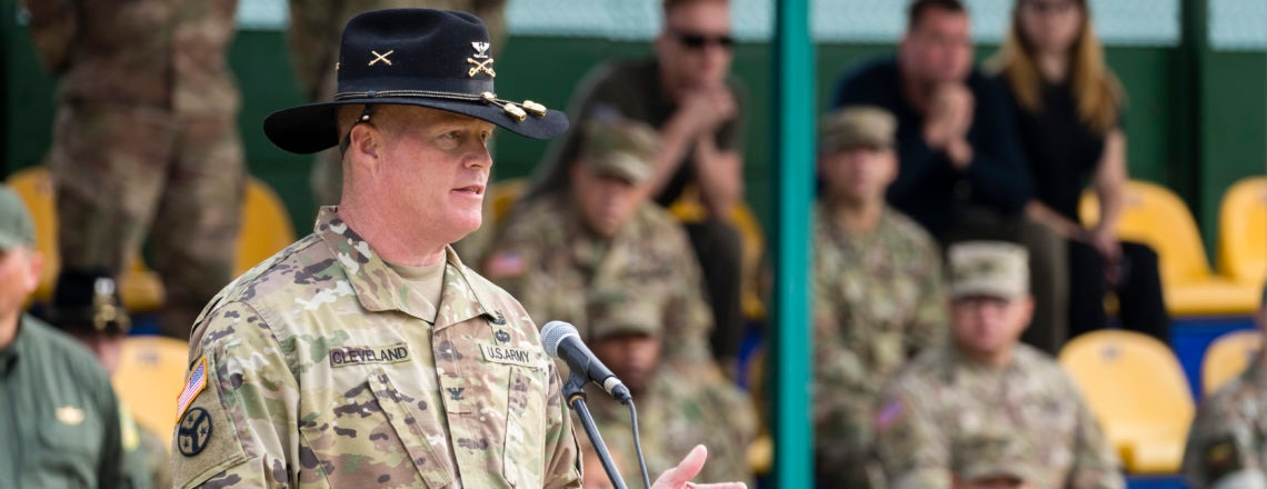 Remarks of Colonel Tim Cleveland at the Opening of Exercise Rapid Trident 2018