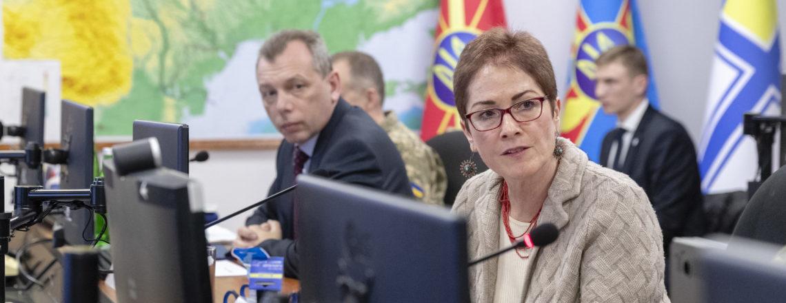 Промова Посла США Йованович на церемонії передачі ІТ обладнання Збройним Силам України