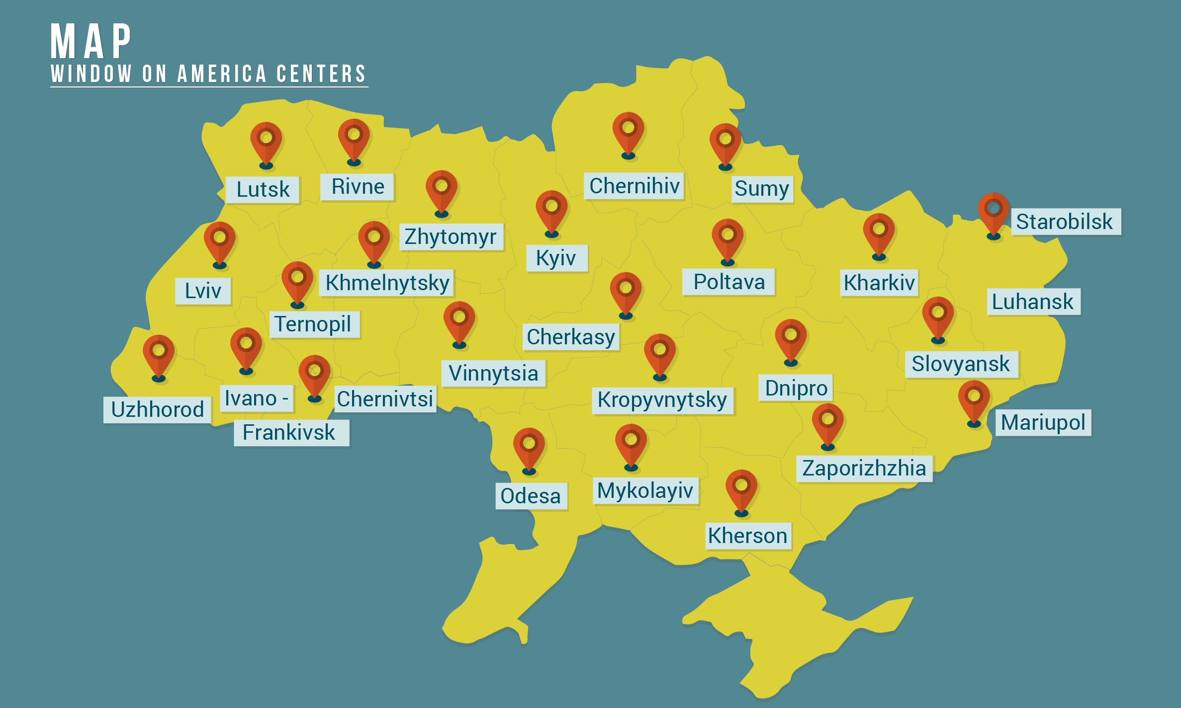Security services of Zaporizhia region: a selection of sites